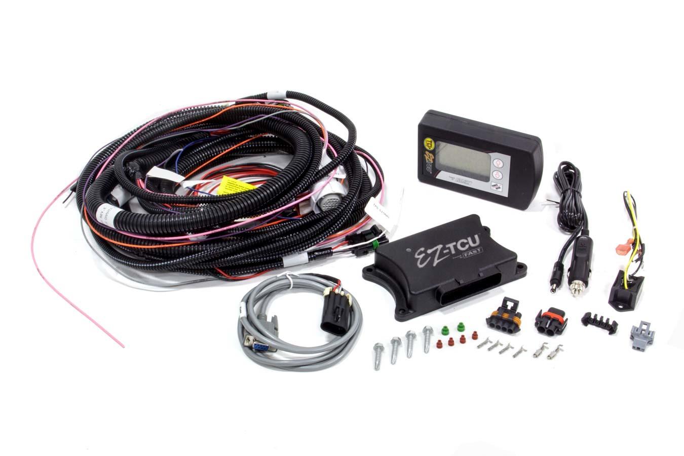 Fast Electronics 30282-KIT Transmission Controller, EZ TCU, Digital Display / Harness, 4L60E / 4L65E / 4L80E / 4L85E, Kit