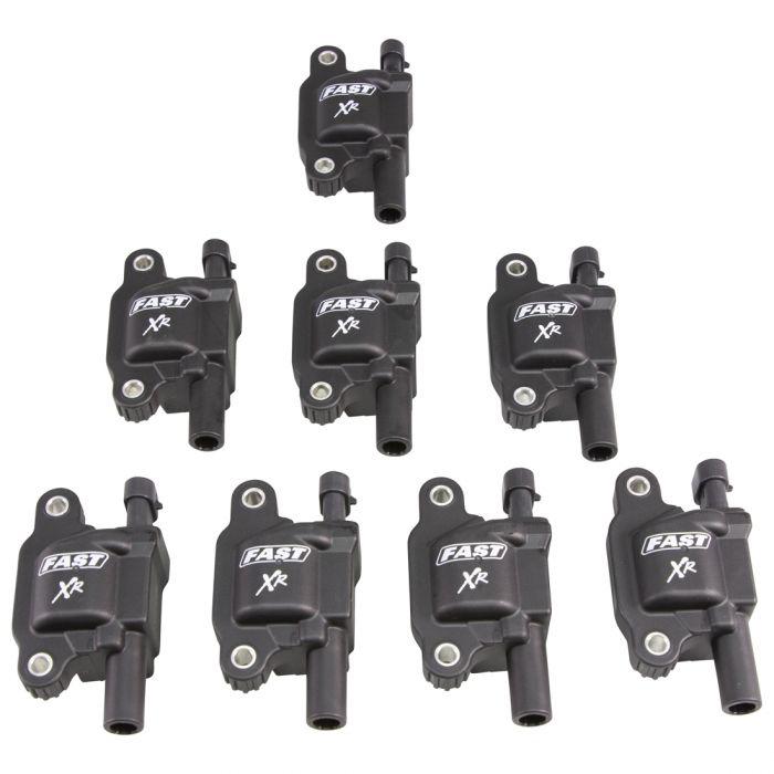 Fast Electronics 30388-8 Ignition Coils, XR Series, 50000V, GM Gen V 5.3L/6.2L, Set of 8