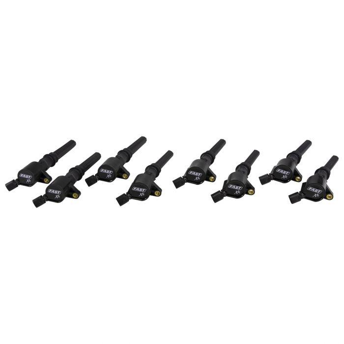 Fast Electronics 30390-8 Ignition Coils, XR Series, 40000V, Ford Modular 2V 4.6L/5.4L/5.8L, Set of 8