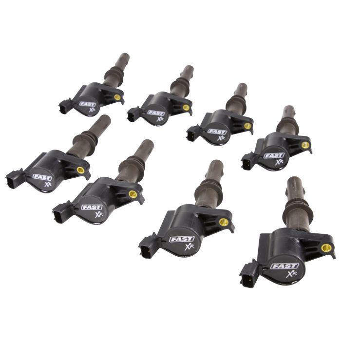 Fast Electronics 30393-8 Ignition Coils, XR Series, 40000V, Ford Modular 3V 4.6L/5.4L/5.8L 2008-16, Set of 8