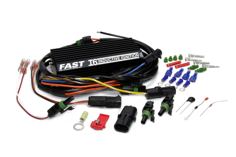 Fast Electronics 6000-6300 Ignition Box, FireBall, HI-6S, Digital, CD Ignition, Multi-Spark, Rev Limiter, Boost Retard, Kit