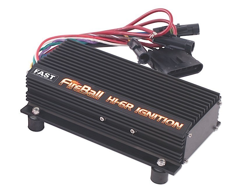 Fast Electronics 6000-6405 Ignition Kit, FireBall, HI-6R, Digital, CD Ignition, Multi-Spark, Sequential Rev Limiter, LX-92 Coil, Universal, Kit