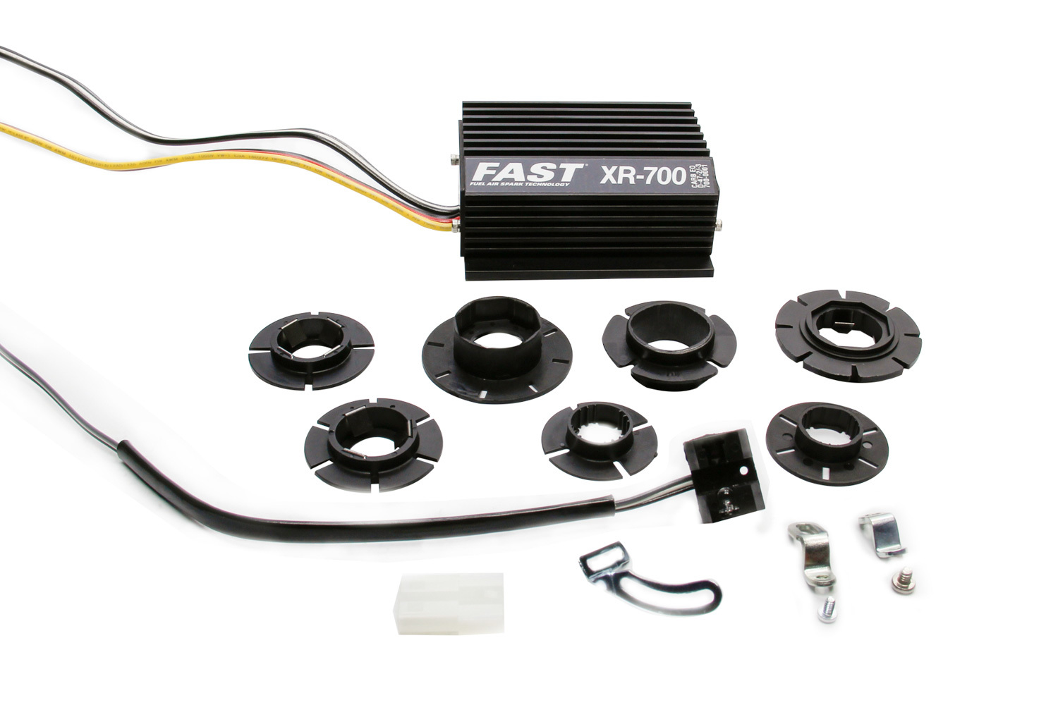 Fast Electronics 700-0231 Ignition Conversion Kit, XR700, Points to Electronic, Optical Trigger, Import/Universal 4/6/8-Cylinder, Kit