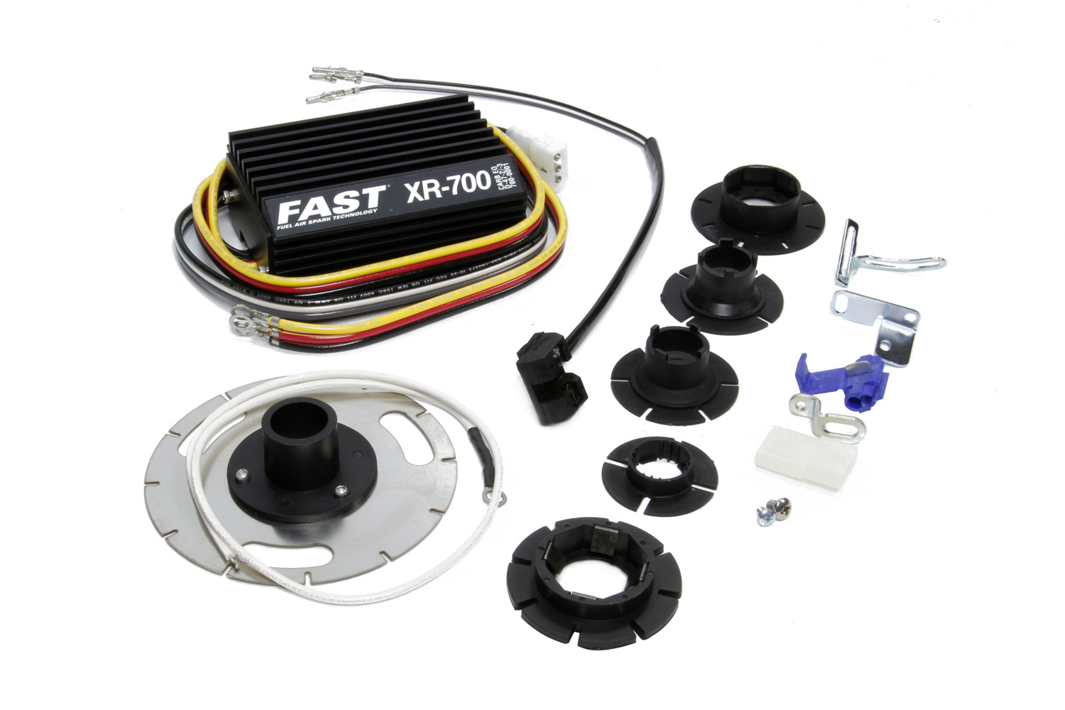 Fast Electronics 700-0300 Ignition Conversion Kit, XR700, Electronic, Optical Trigger, British Import, Lucas OPUS Distributor, Kit