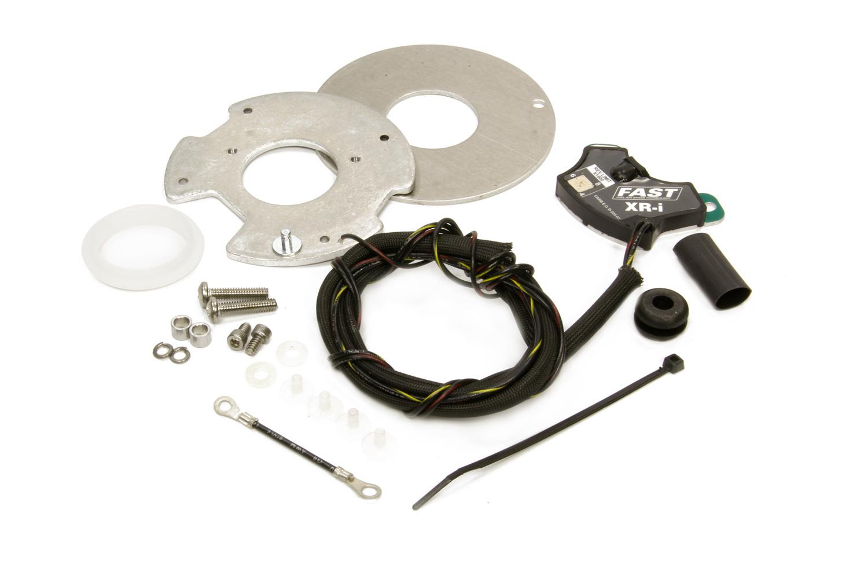 FAST 750-1700 Ignition Conversion Kit, XR-I, Points to Electronic, Distributor Cam Lobe Trigger, Rev Limiter, Ford V8, Kit