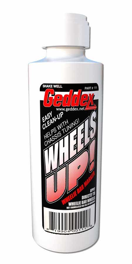 Wheels Up Wheelie Bar Marker White 3oz Bottle