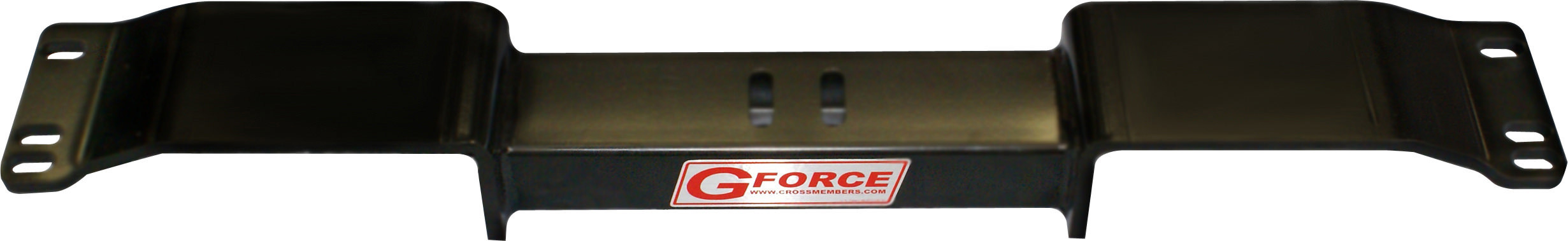 G Force Crossmembers RCF1-350 Transmission Crossmember, Bolt-On, Steel, Black Powder Coat, TH350 / Muncie / Powerglide / T-10 / Saginaw / TH200 Transmission, GM F-Body 1967-69, Each