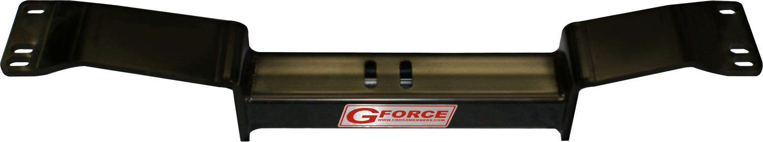 G Force Crossmembers RCF1-700 Transmission Crossmember, Bolt-On, Steel, Black Powder Coat, 4L60 / 700R4, GM F-Body 1967-69 / X-Body 1968-74, Each