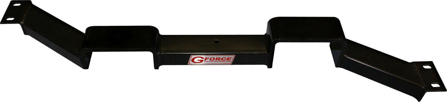 G Force Crossmembers RCG-350 Transmission Crossmember, Bolt-On, Steel, Black Powder Coat, TH350 Transmissions, GM G-Body 1978-88, Each