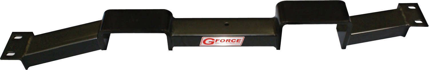 G Force Crossmembers RCG-400 Transmission Crossmember, Bolt-On, Steel, Black Powder Coat, TH400 Transmissions, GM G-Body 1984-88, Each