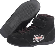 GF235 RaceGrip Mid-Top Shoes Black Size 5