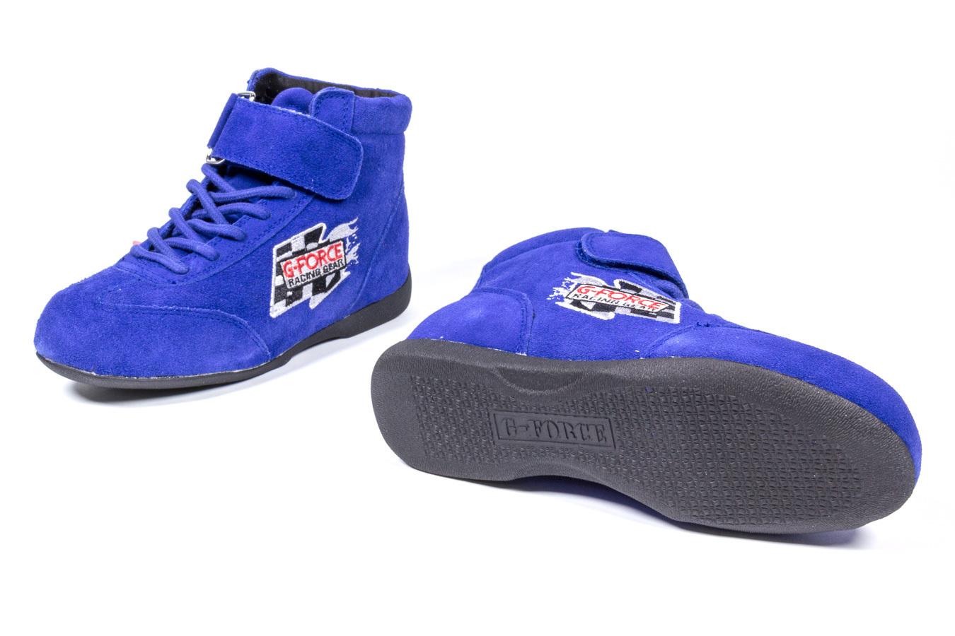 GF235 RaceGrip Mid-Top Shoes Blue Size 5