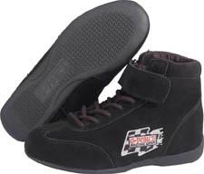 GF235 RaceGrip Mid-Top Shoes Black Size 8