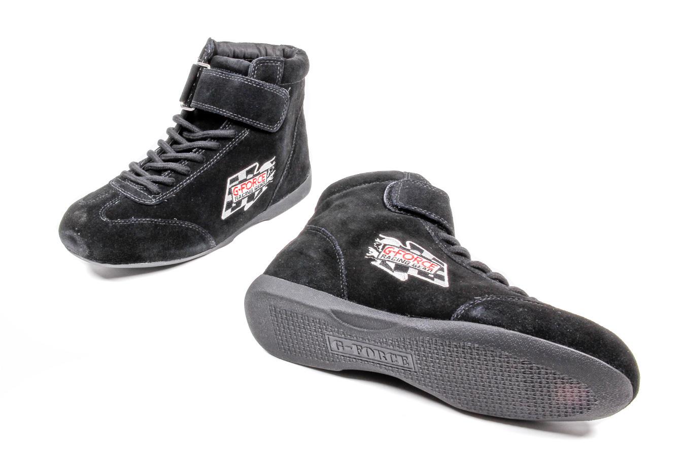 GF235 RaceGrip Mid-Top Shoes Black Size 10.5