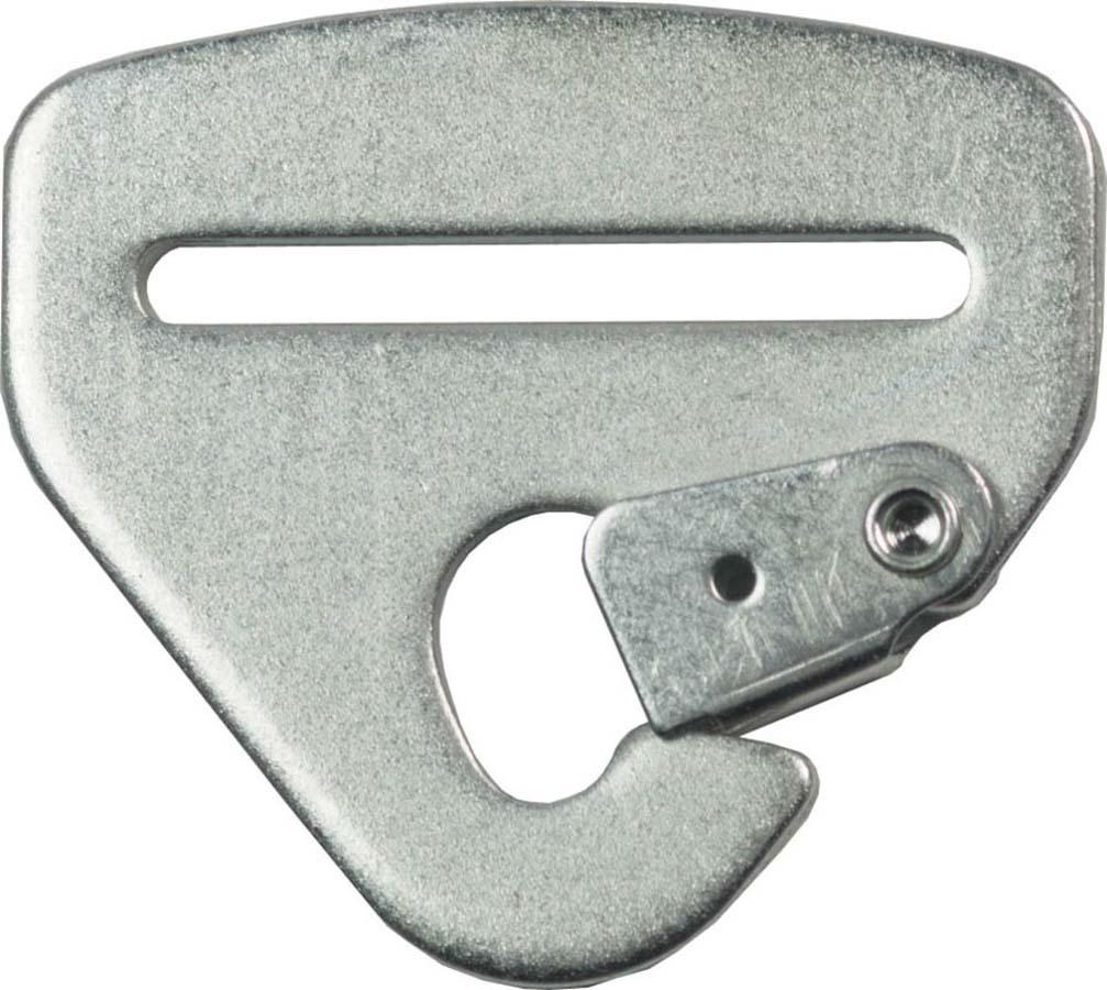 G-Force 107H Harness Hardware, Snap-In, 2 in Wide, Steel, Zinc Oxide, Each