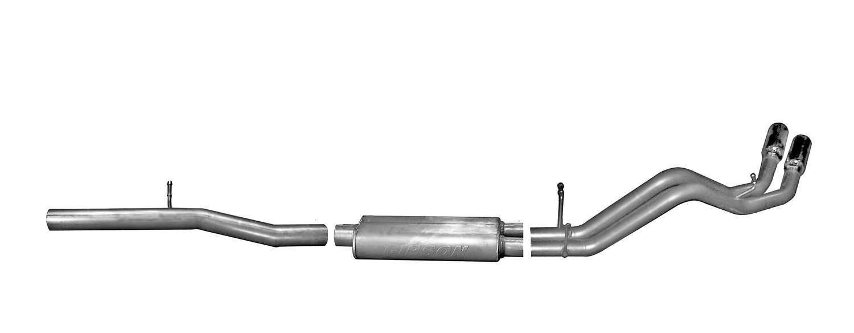 Cat Back Exhaust 14- GM P/U 5.3L DC/SB