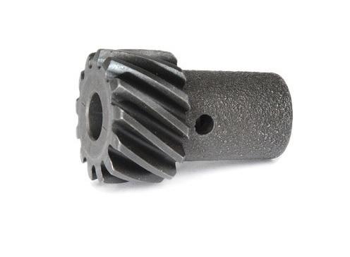 Chevrolet Performance 19052845 Distributor Gear, 0.428 in Shaft, Steel, Melonized, Chevy V6 / V8, Each