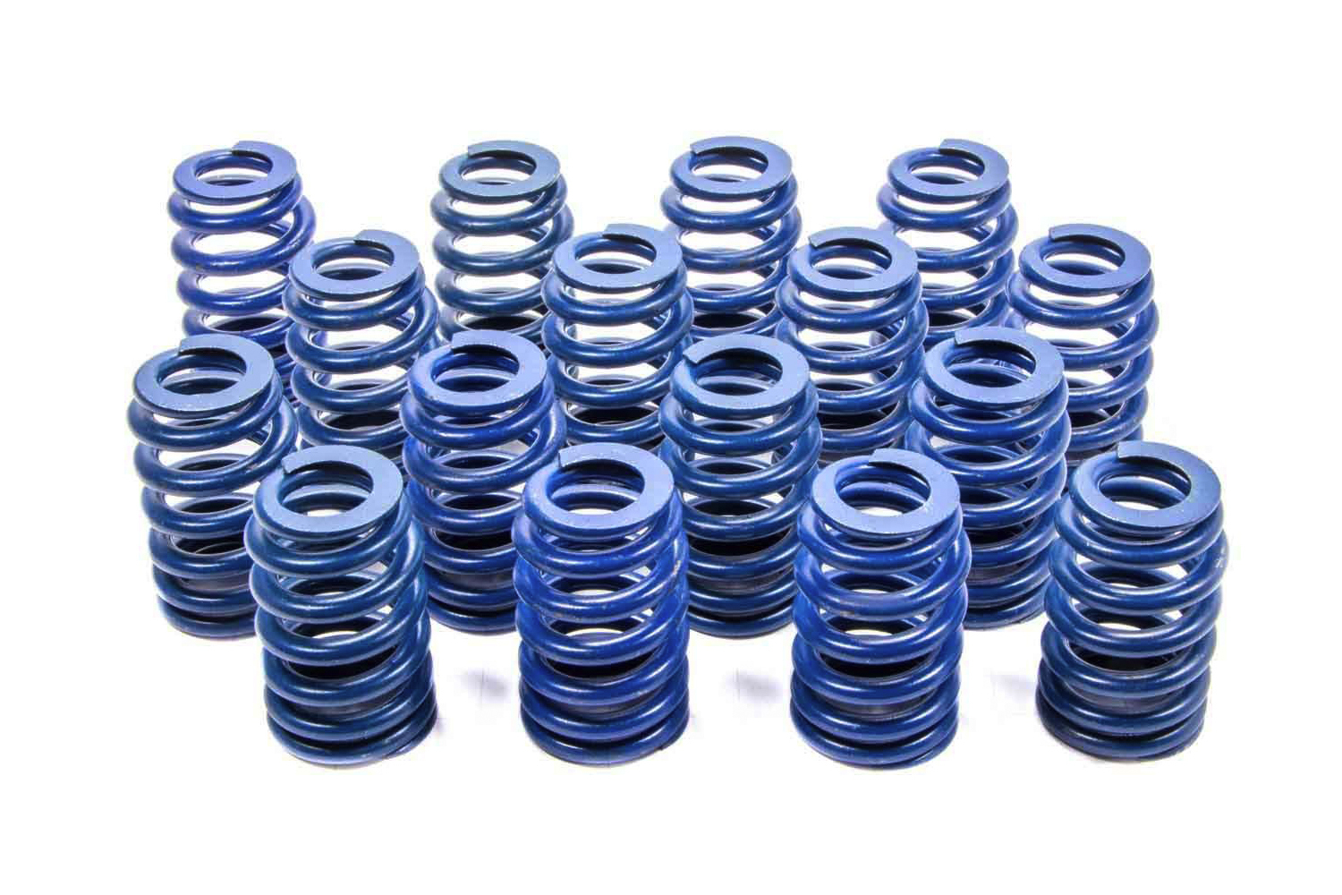 Chevrolet Performance 19420455 Valve Spring, Single Beehive Spring, 332 lb/in Spring Rate, 1.220 in Coil Bind, 1.320 in OD, GM LS-Series, Set of 16
