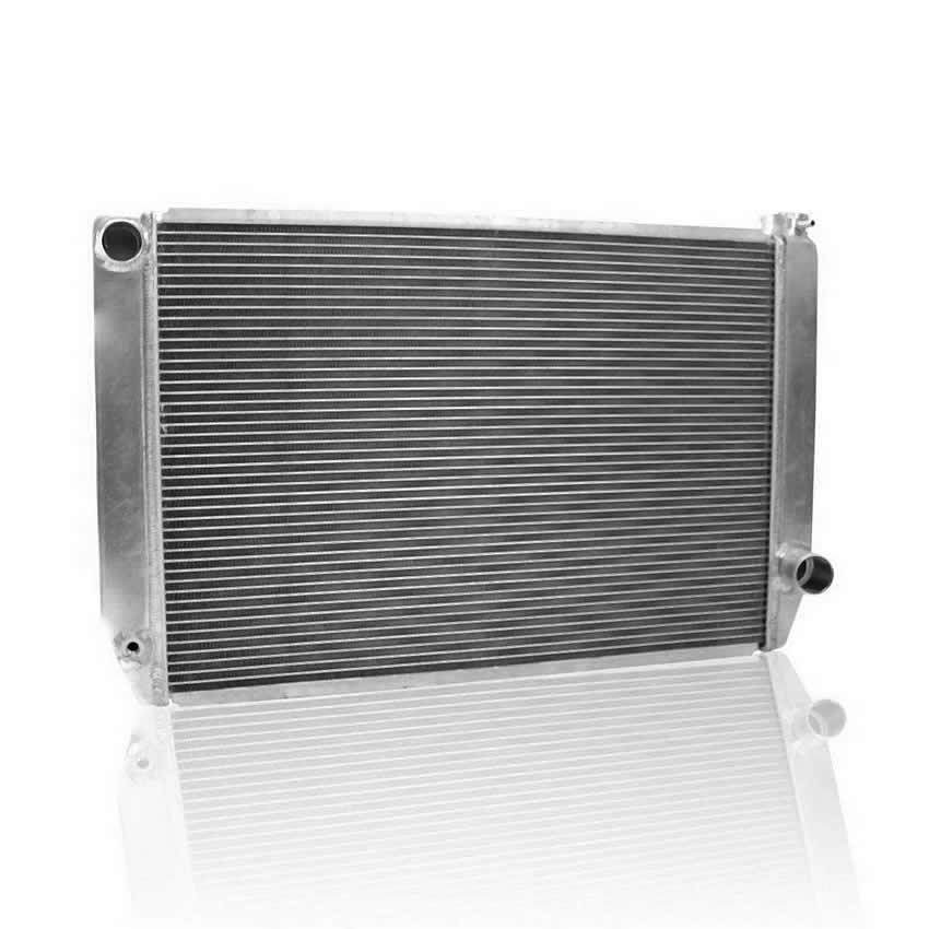 Griffin 125272X Radiator, ClassicCool, 31 in W x 19 in H x 3 in D, Driver Side Inlet, Passenger Side Outlet, Aluminum, Natural, Each