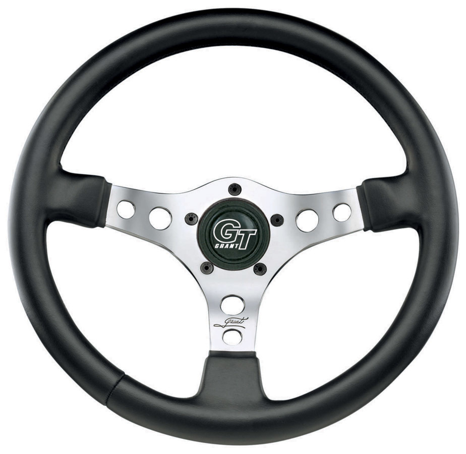 Formula GT Steering Wheel Black Leather