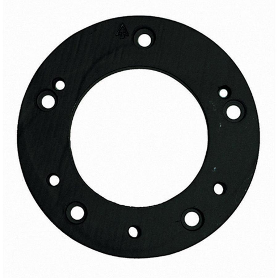 Grant 4009 Steering Wheel Adapter, 6-Bolt Wheel to 5-Bolt Hub, Aluminum, Black Anodize, Universal, Each