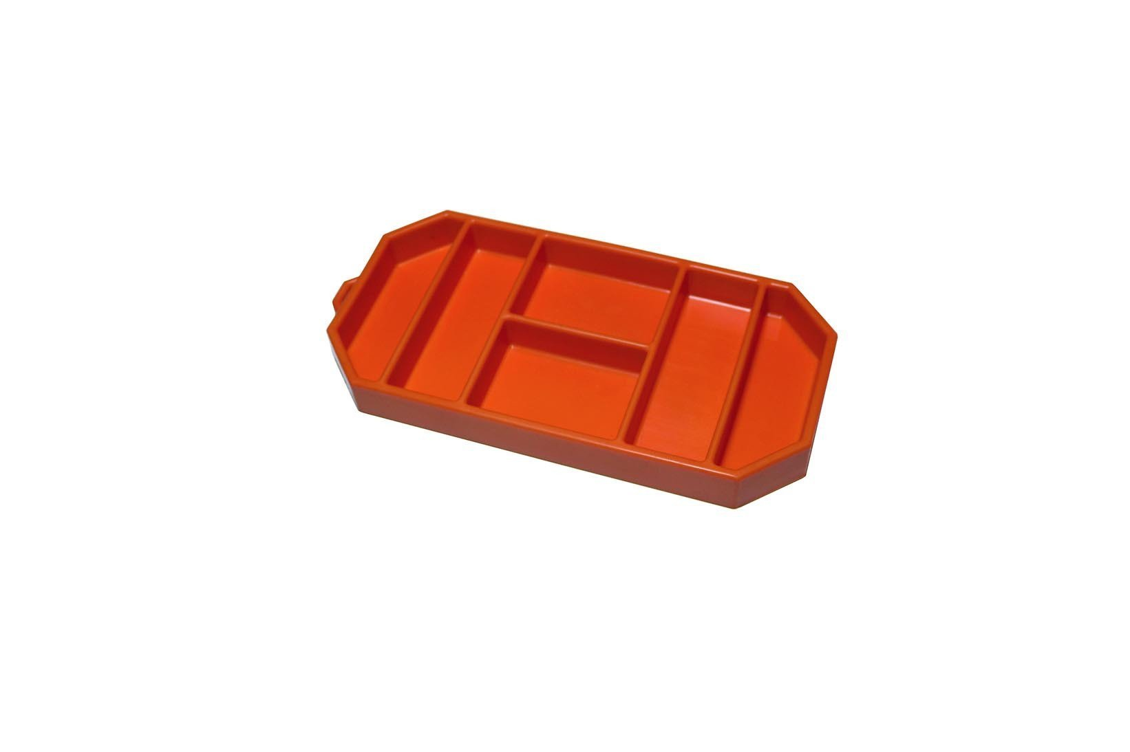 Grypmat RFGM-CR03S Tool Tray, Grypmat, 6 x 12 in, Rectangular, 1 in Thick, Chemical Resistant, Silicone, Orange, Each