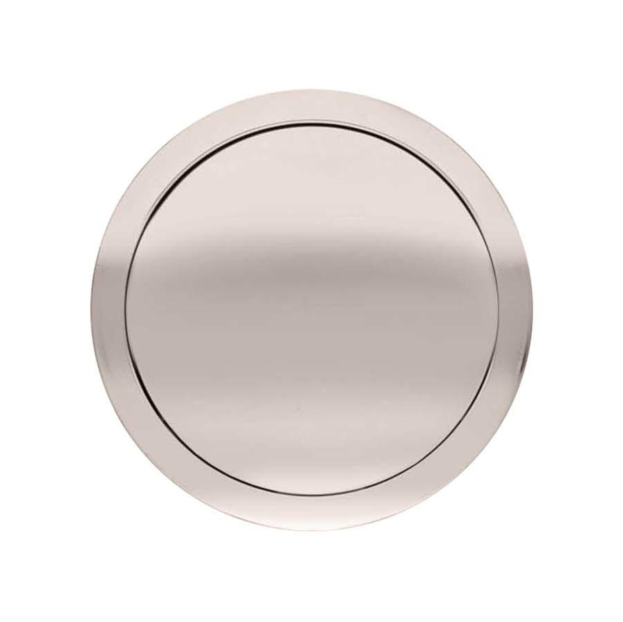 GT9 Horn Button Plain Billet Button