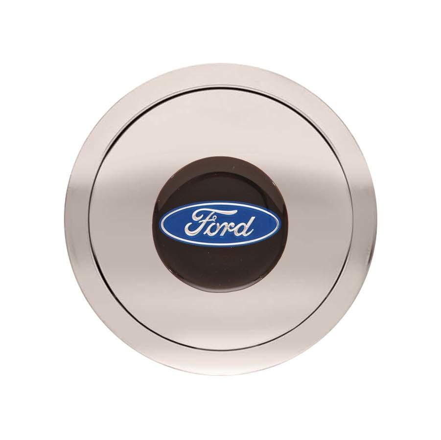 GT9 Horn Button Ford Logo Color Emblem