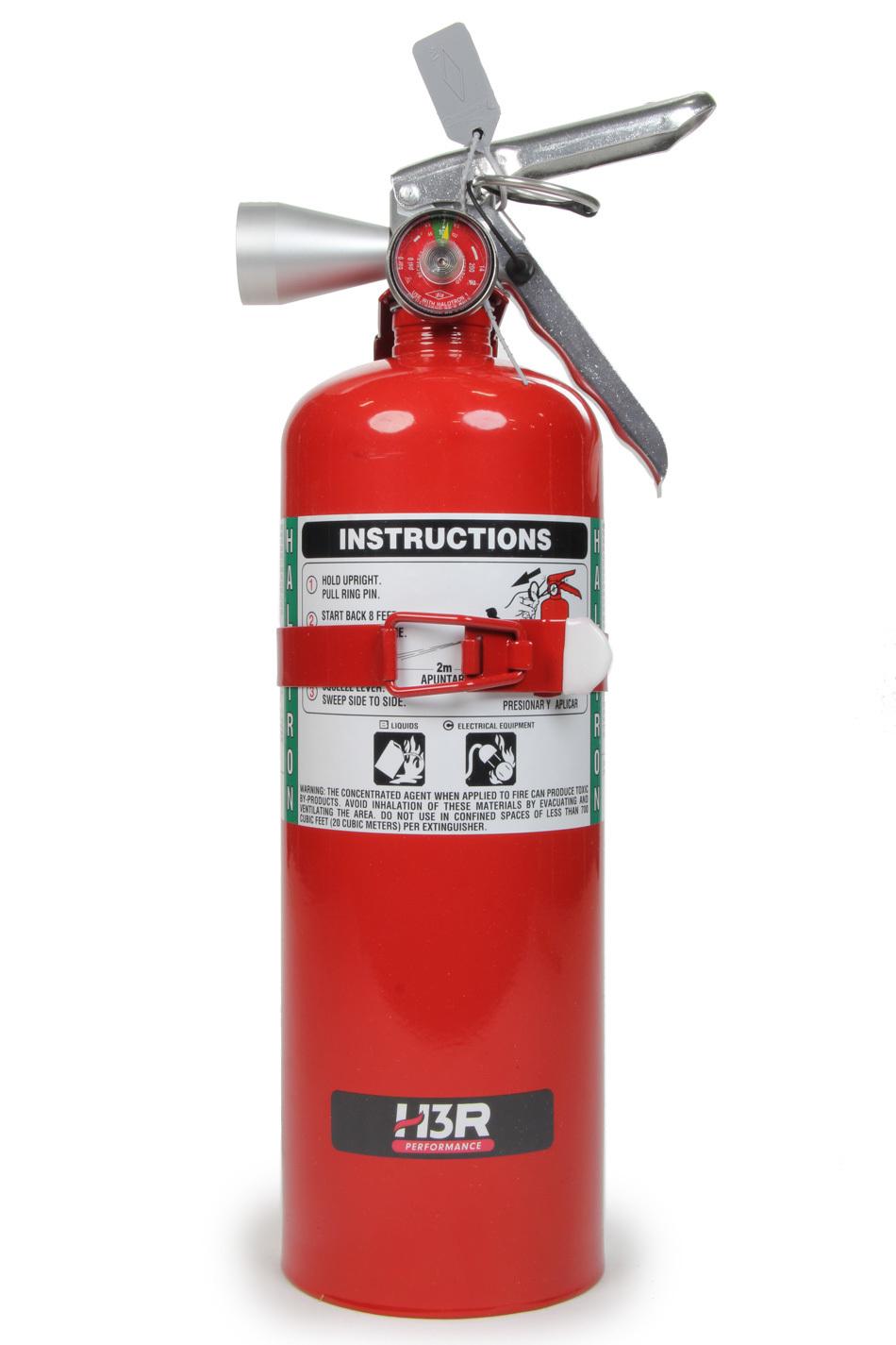 Fire Ext 5lb Halguard Red