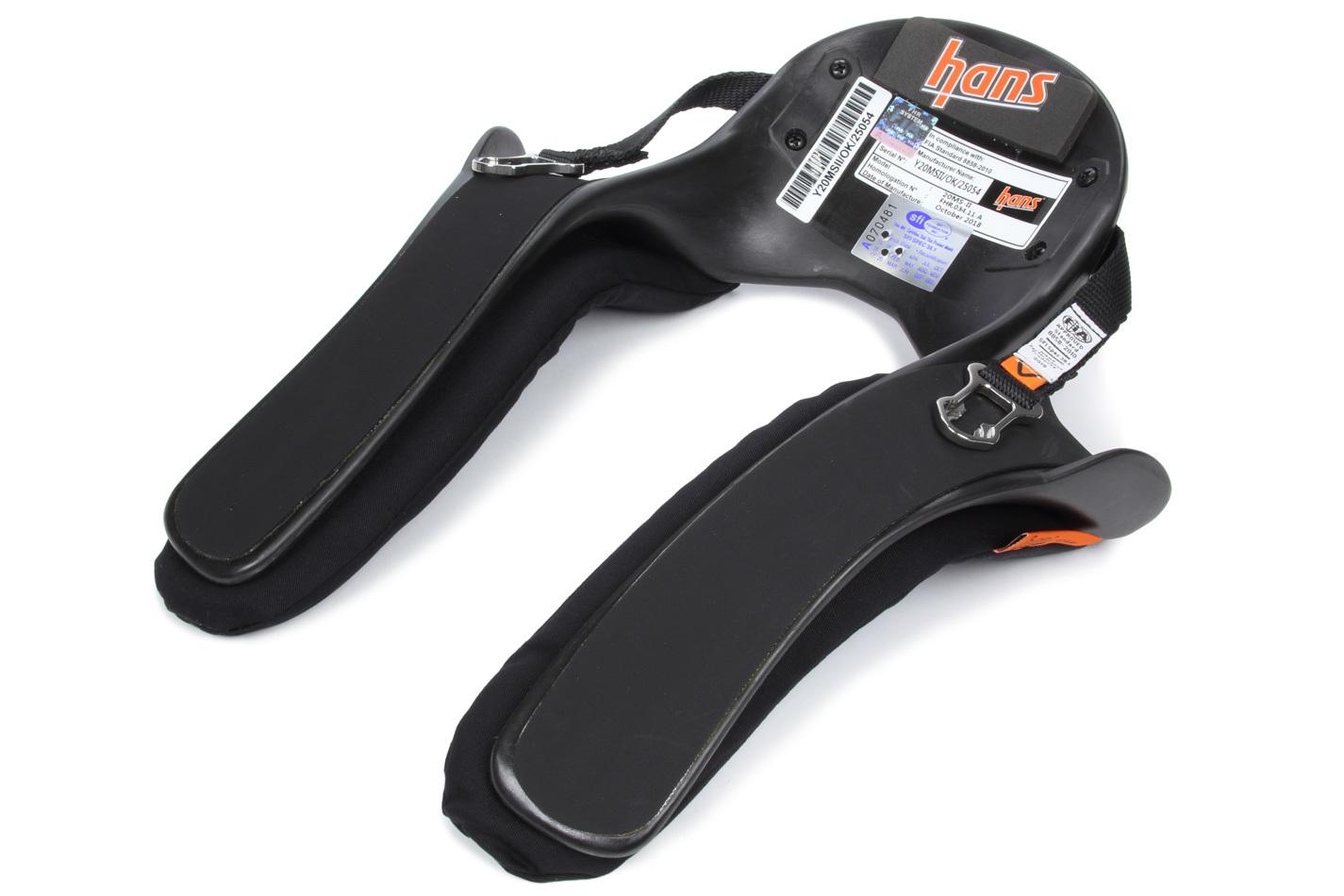 HANS Sport 2 Model 20 Md PA ST No Anchors FIA/SFI