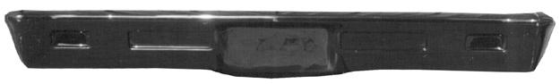 Harwood 14550 Bumper, Front, Fiberglass, Black, Chevy Nova 1968-72, Each