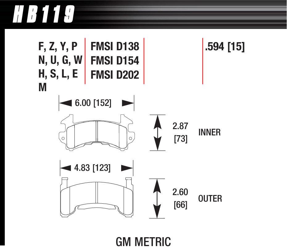 Metric GM-HP Plus