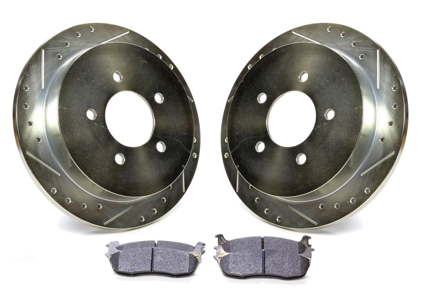 Rotors and Pad Kit Rear - Ford F150 99 - 04