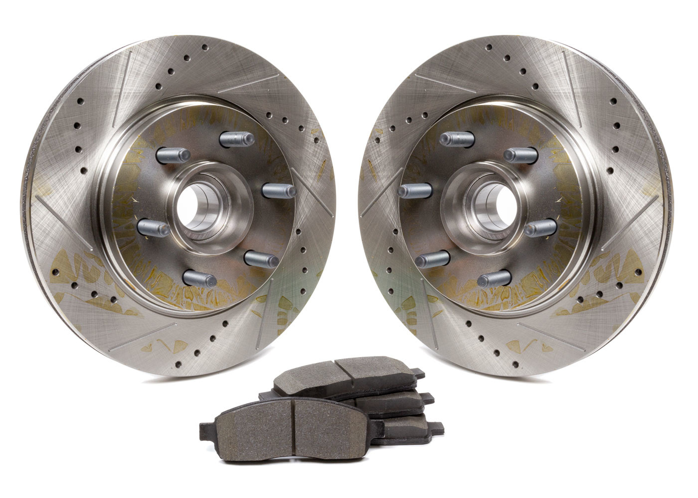 Rotors and Pad Kit Front - Ford F150 05-08