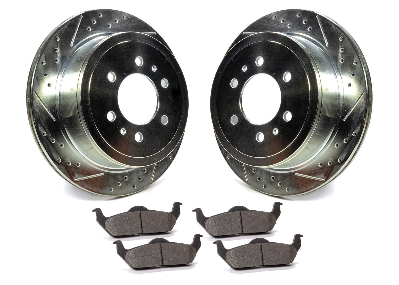 Rotors and Pad Kit Rear - Ford F150 05-11