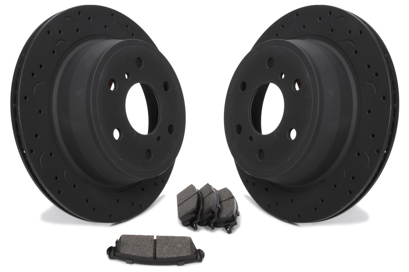 Rotors and Pad Kit Rear - Chevy 1500 08-13