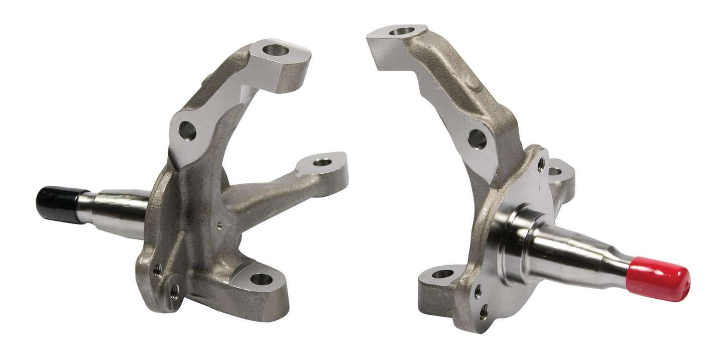 Heidts Rod Shop MP-028 Spindle, Stock Replacement, Driver / Passenger Side, Steel, Natural, Ford Mustang II, Pair