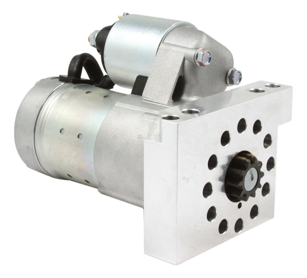 Hitachi Auto Products PSL100 Starter, Pro Super-Lite, 6:1 Gear Reduction, Natural, 153 / 168 Tooth Flywheels, Chevy V8, Each