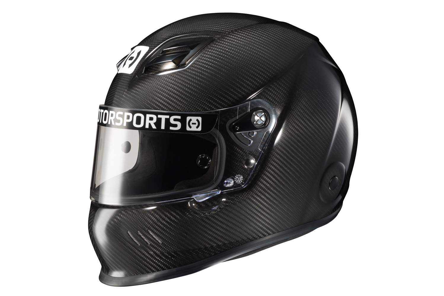 HJC Motorsports H10CXXL20 Helmet, H10, Full Face, Snell SA2020, Head and Neck Support Ready, Carbon Fiber, 2X-Large, Each