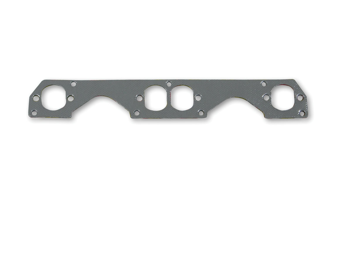 Hooker 10812 Exhaust Manifold / Header Gasket, Super Competition, Stock Port, Steel Core Laminate, Small Block Chevy, Set of 4