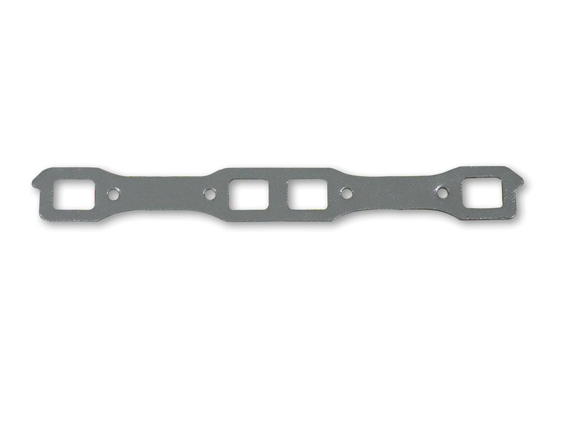 Hooker 10838 Exhaust Manifold / Header Gasket, Super Competition, Stock Port, Steel Core Laminate, Mopar B / RB-Series, Pair