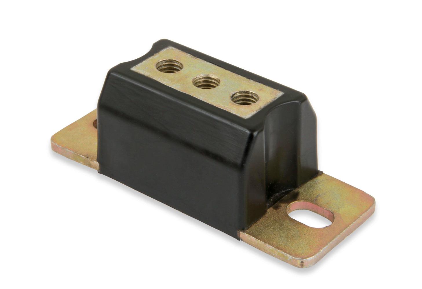 Hooker 71223029HKR Transmission Mount, Polyurethane / Steel, Black / Zinc Oxide, Various Applications, Each