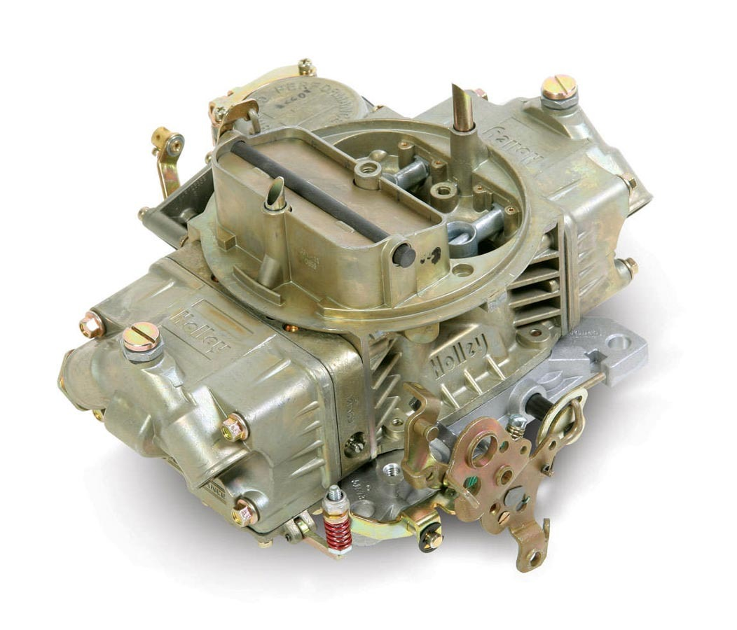 Holley 0-3310C Carburetor, Model 4160, 4-Barrel, 750 CFM, Square Bore, Manual Choke, Vacuum Secondary, Dual Inlet, Chromate, Each