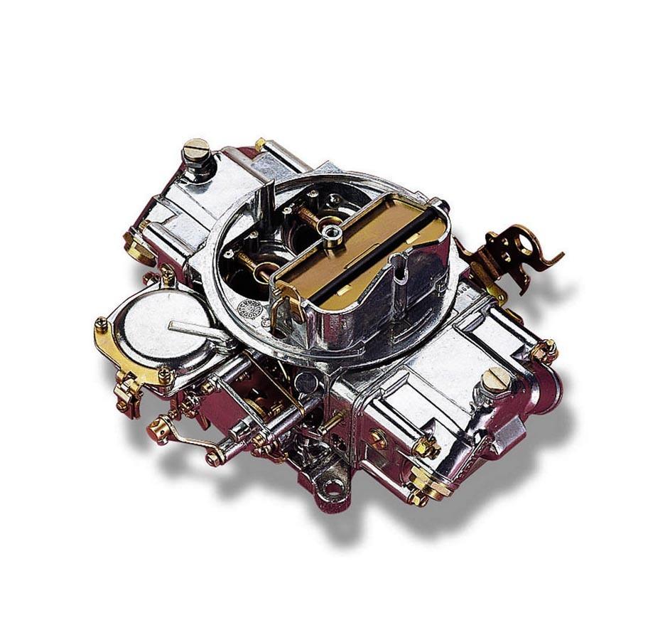 Holley 0-3310S Carburetor, Model 4160, 4-Barrel, 750 CFM, Square Bore, Manual Choke, Vacuum Secondary, Dual Inlet, Silver, Each
