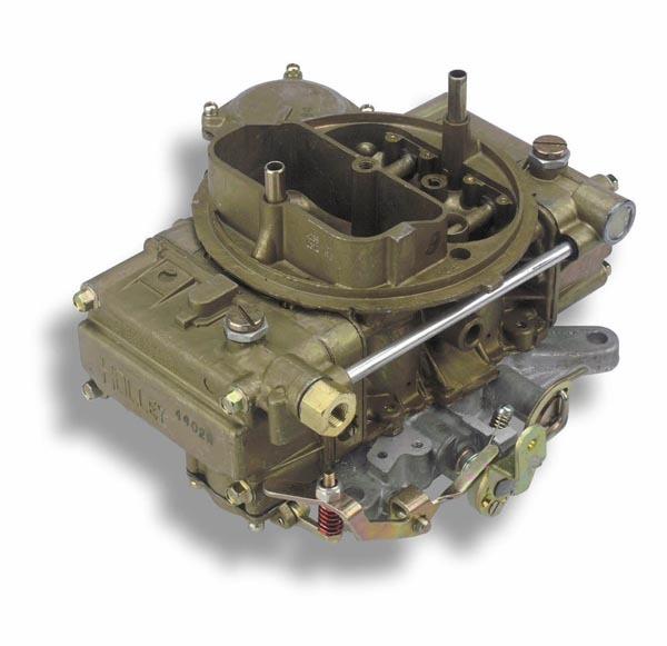 Holley 0-4235 Carburetor, OEM Muscle Car, 4-Barrel, 770 CFM, Square Bore, No Choke, Single Inlet, Chromate, Passenger Side, Cross Ram, Each