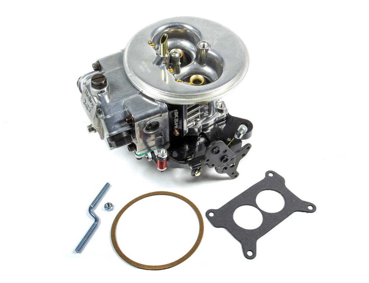 Holley 0-4412BKX Carburetor, Ultra XP, 2-Barrel, 500 CFM, Holley Flange, No Choke, Dual Inlet, Black Anodize / Polished, Each