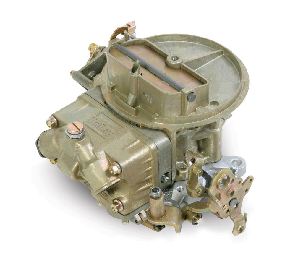 Holley 0-4412C Carburetor, Model 2300, 2-Barrel, 500 CFM, Holley Flange, Manual Choke, Single Inlet, Chromate, Ford AT Kickdown, Each