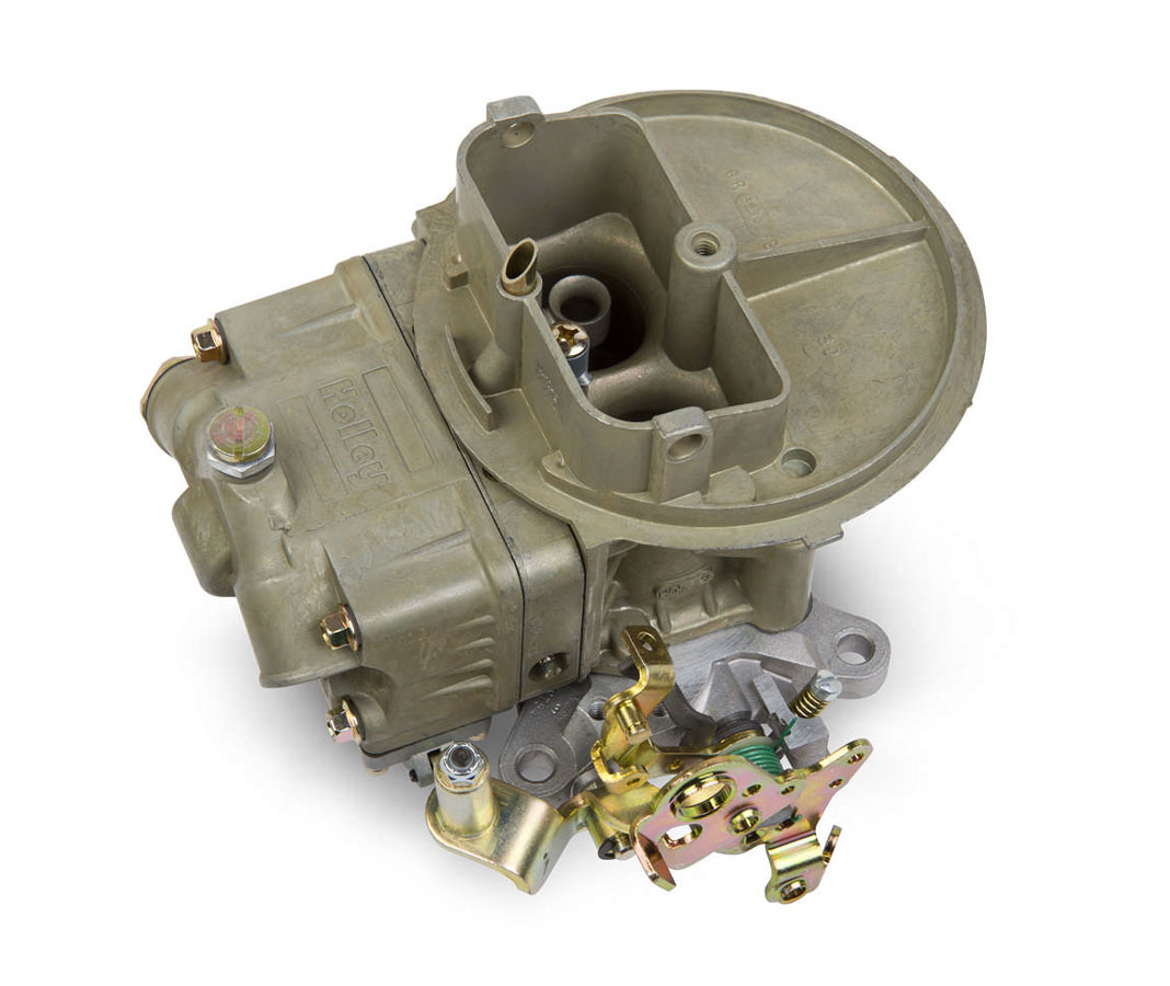 Holley 0-4412CT Carburetor, Model 2300, 2-Barrel, 500 CFM, Holley Flange, Manual Choke, Single Inlet, Chromate, Ford AT Kickdown, Each