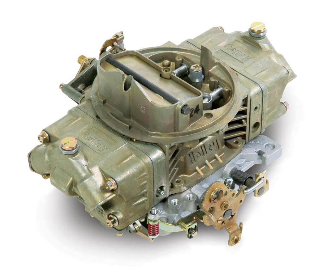 Holley 0-4776C Carburetor, Model 4150, 4-Barrel, 600 CFM, Square Bore, Manual Choke, Mechanical Secondary, Dual Inlet, Chromate, Each