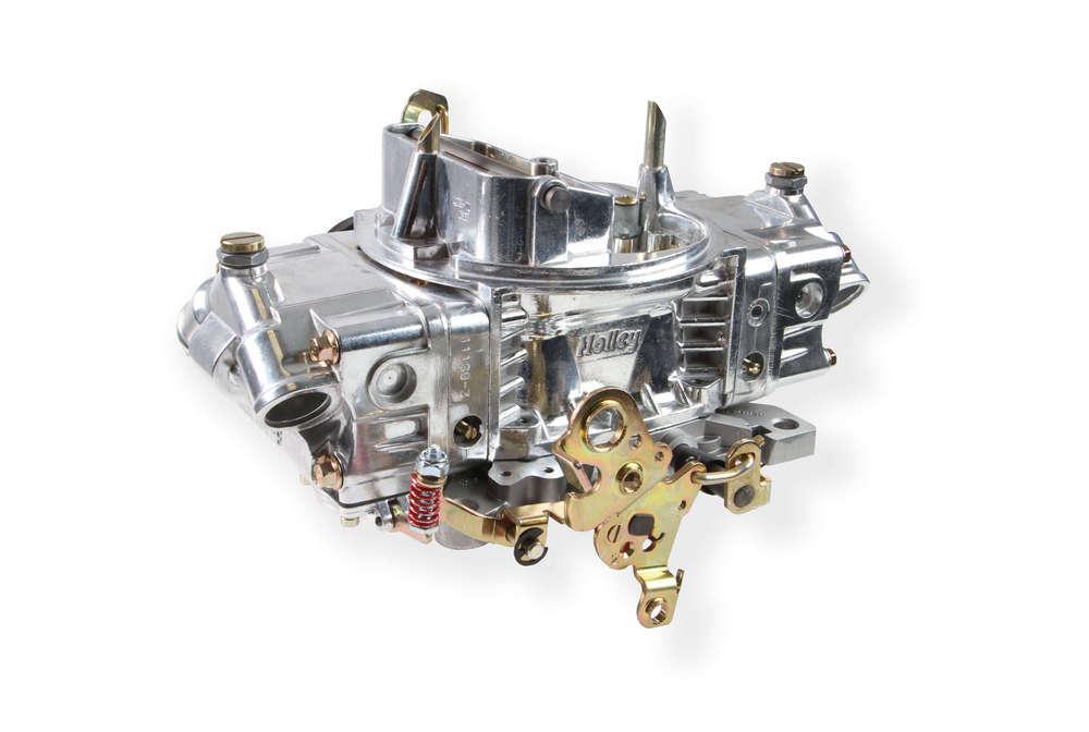 Holley 0-4779SAE Carburetor, Model 4150, Aluminum Double Pumper, 4-Barrel, 750 CFM, Square Bore, Electric Choke, Mechanical Secondary, Dual Inlet, Shiny, Each
